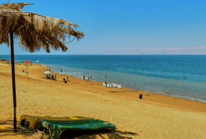Floating Around The Dead Sea