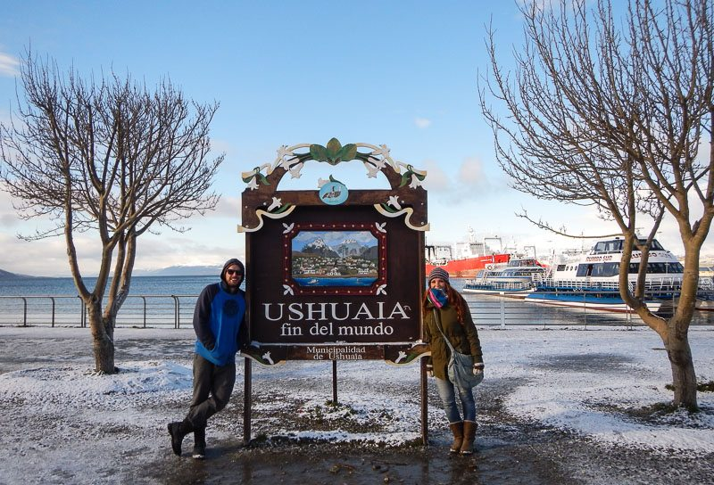 The end of the world – Ushuaia – Argentina