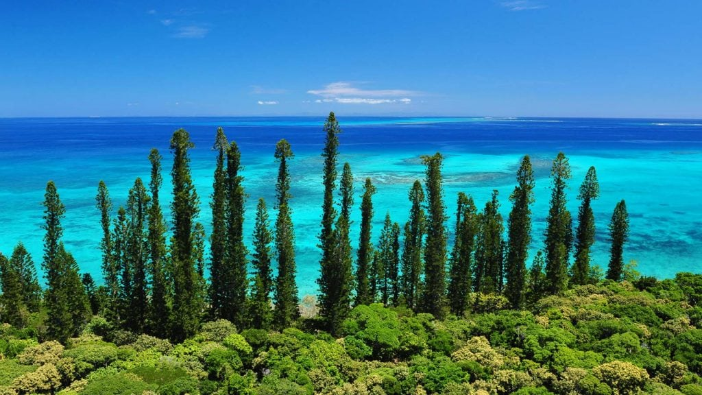 Isle of Pines New Caledonia
