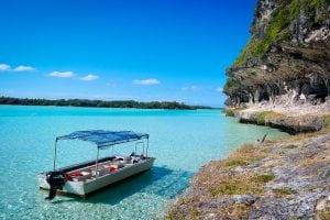 GREY LEKINY CLIFFS Loyalty Islands