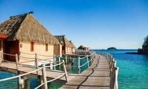 Likuliku Fiji overwater bungalow