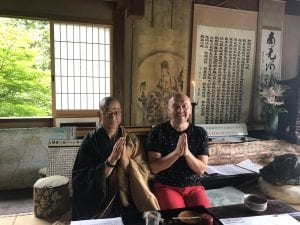 Tea with A Monk in Kyoto