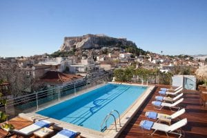 Athens Hotels With A View