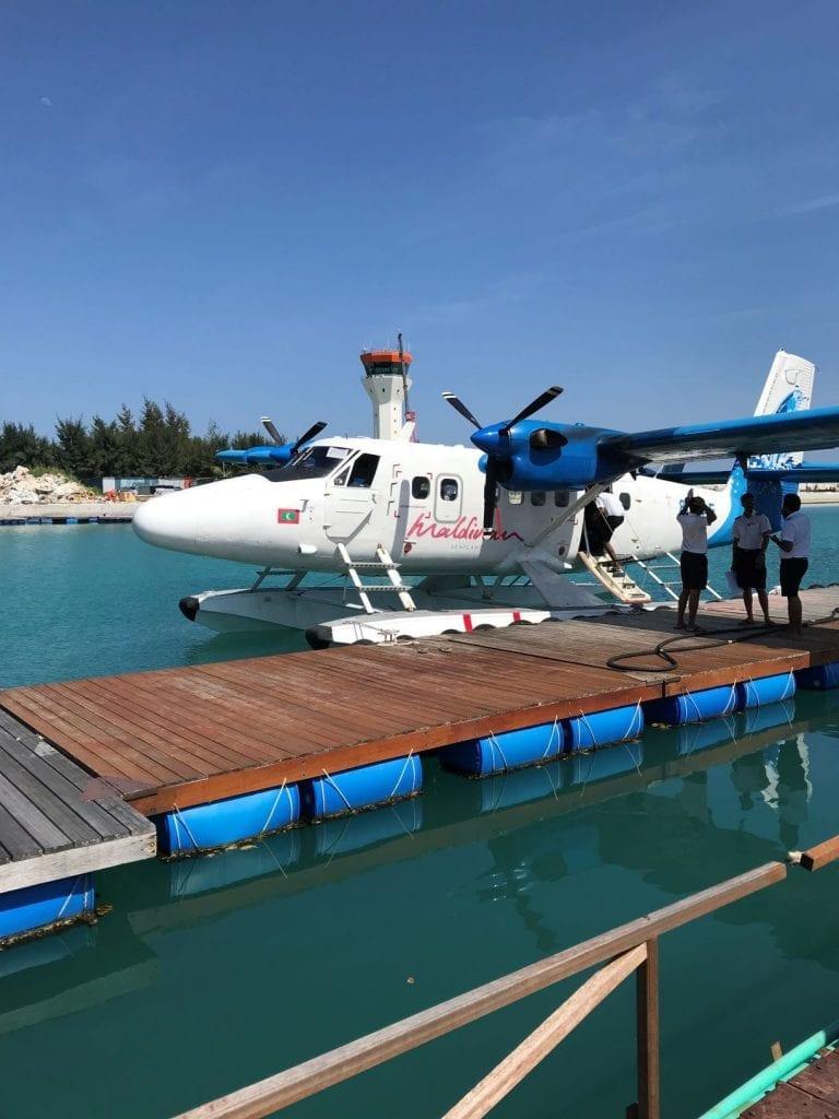 Sea Plane to Anantara Kihavah