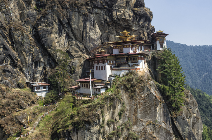 Tigers Nest And Tea With A Monk