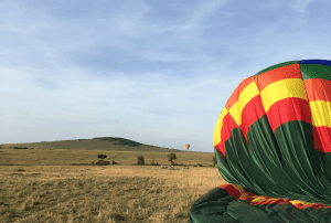 'Hot Air Balloon with Champagne Breakfast in the Maasai Mara'